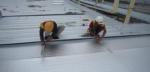 hướng dẫn lắp đặt mái tôn an toàn đúng cách