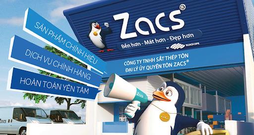nhà cung cấp các loại tôn mái nhà uy tín Bluescope Zacs