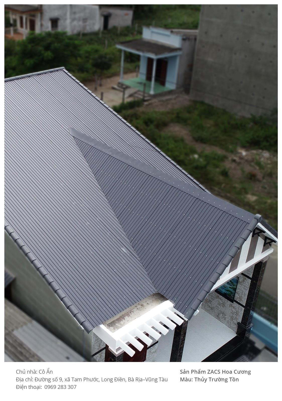 Một kiểu nhà mái tôn lạ mắt