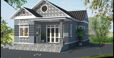 Chi phí xây nhà cấp 4 mái tôn diện tích 100m2 giao động từ 650 triệu đến 750 triệu