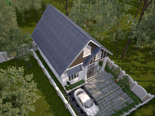 Kết quả hình ảnh cho nhà mái tôn