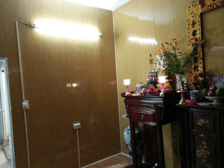 Tôn giả gỗ được dùng để làm vách ngăn