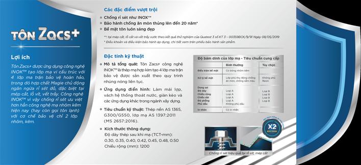 Catelogue - Tôn Zacs công nghệ INOK - phần 03
