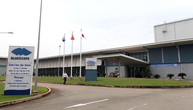 NS BlueScope Việt Nam - nhà sản xuất và cung cấp tôn thép lớn nhất nước