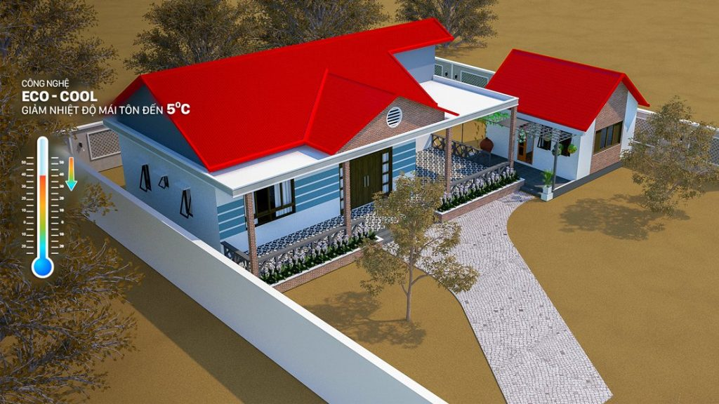 """Đừng để ngôi nhà trở thành """"lò nhiệt"""" do lợp tôn kém chất lượng"""