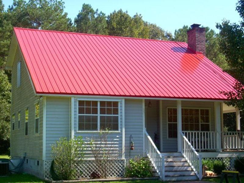 Sử dụng tôn lợp mái đang được ưa chuộng hiện nay