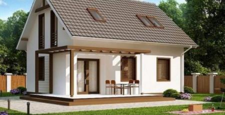 Nhà mái thái có độ dốc cao tạo nét thẩm mỹ cho mái nhà