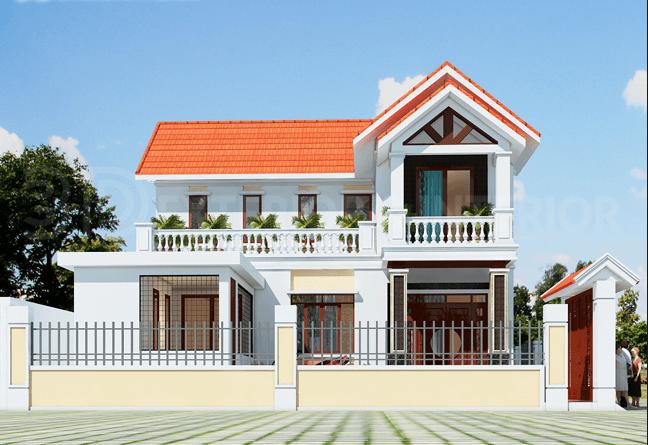 Nhà mái tôn - kiểu nhà được ưa chuộng hiện nay