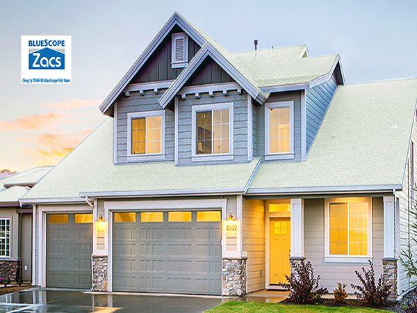 Tôn Lạnh BlueScope Zacs - Sự lựa chọn tốt nhất cho mái nhà bạn