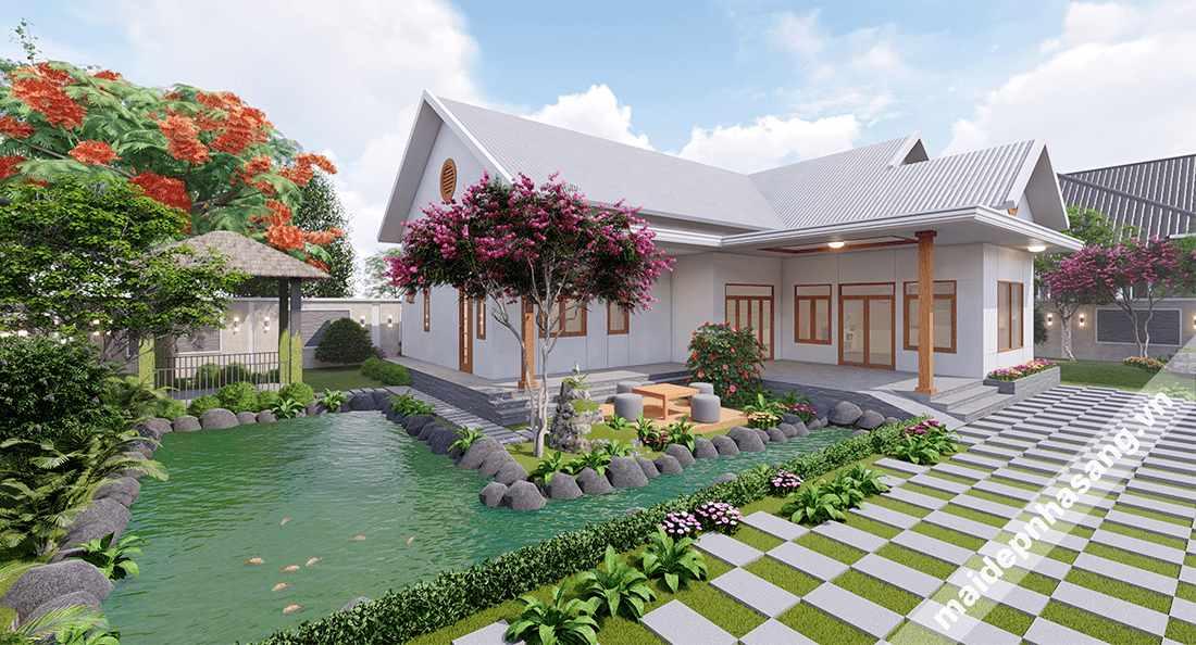 Chiêm ngưỡng Top 15 Mẫu nhà mái tôn đẹp nhất năm 2021