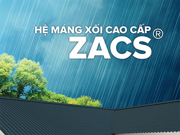 Hệ máng xối cao cấp ZACS® - Sản phẩm của tập đoàn BlueScope