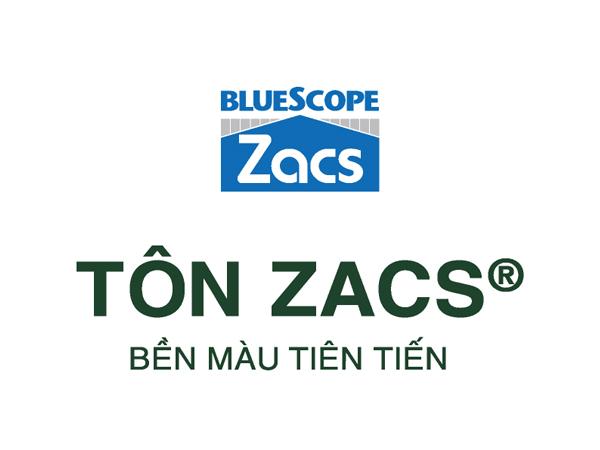 Tôn Zacs bền màu tiên tiến - Sản phẩm tập đoàn BlueScope