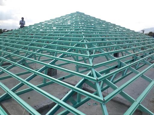 Các kiểu thiết kế thanh kèo thép được sử dụng trong xây dựng