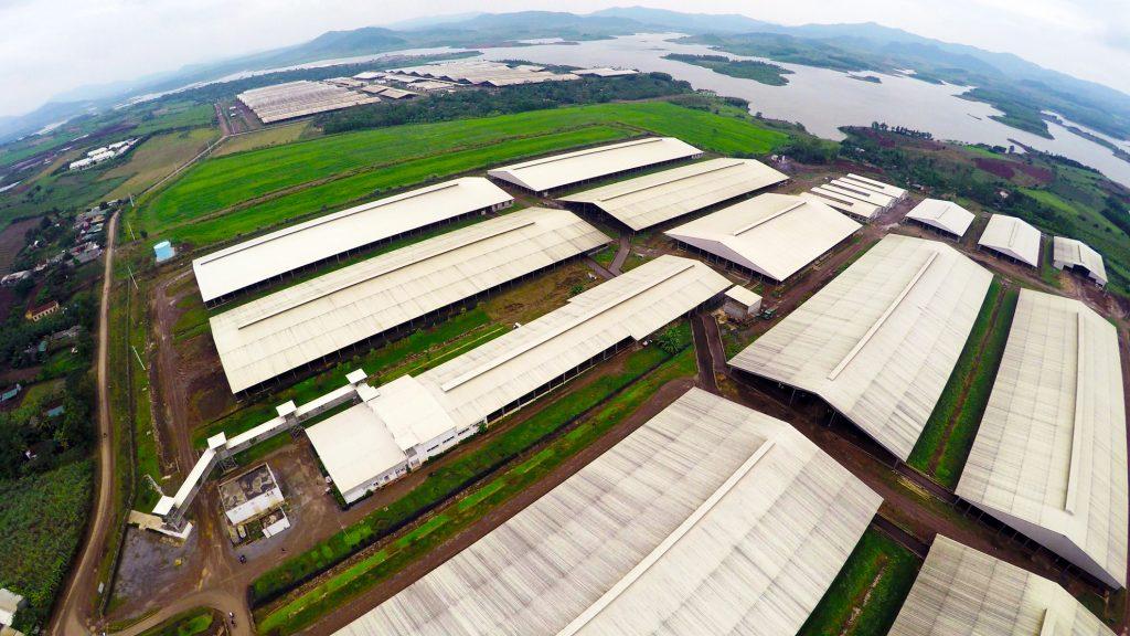 xây dựng nông trại lớn