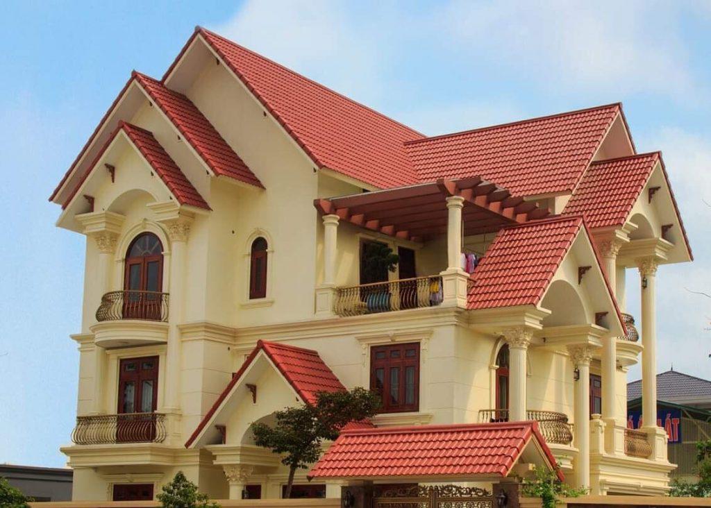 mái nhà mới