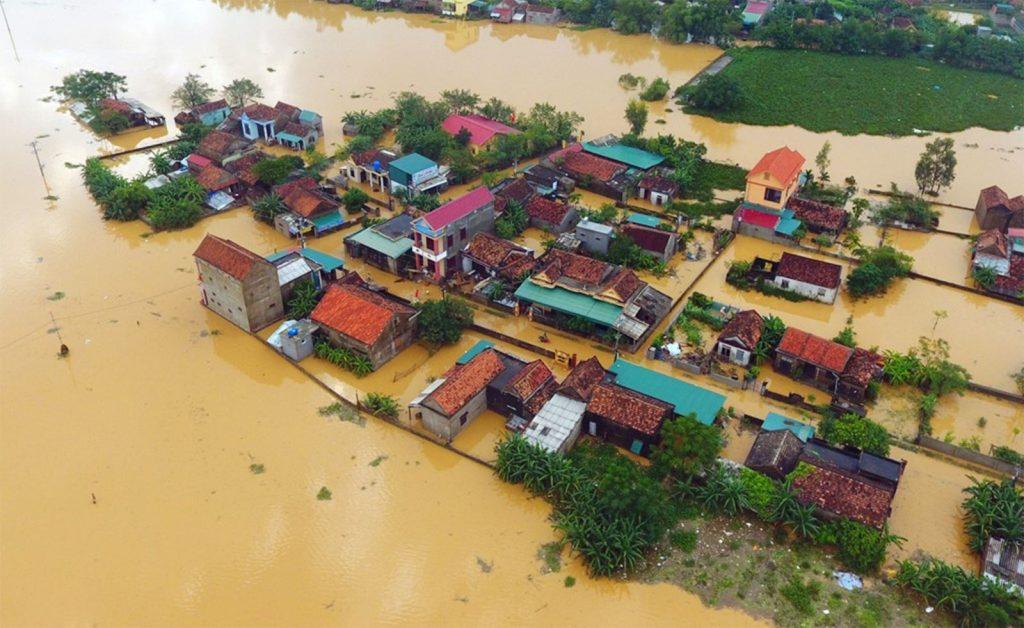 lũ lụt miền trung