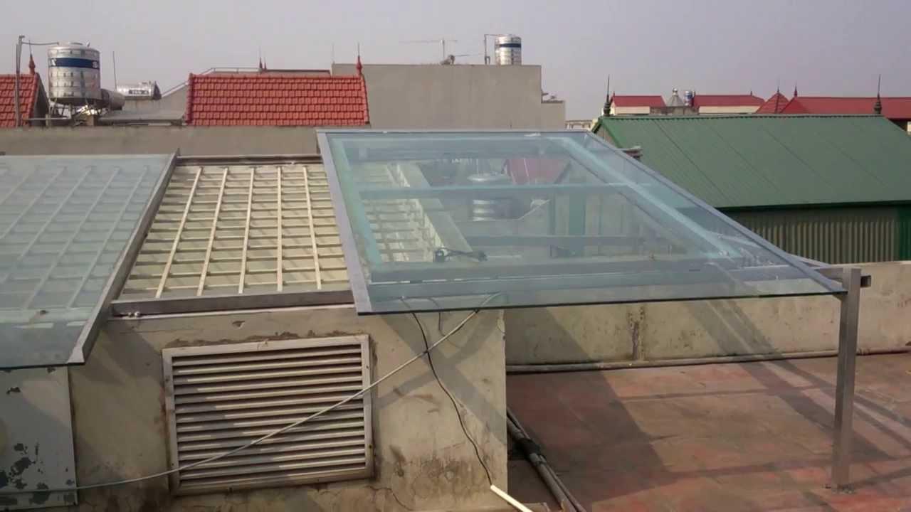 Phương pháp làm mái trượt giếng trời, phù hợp cho mọi công trình hiện đại