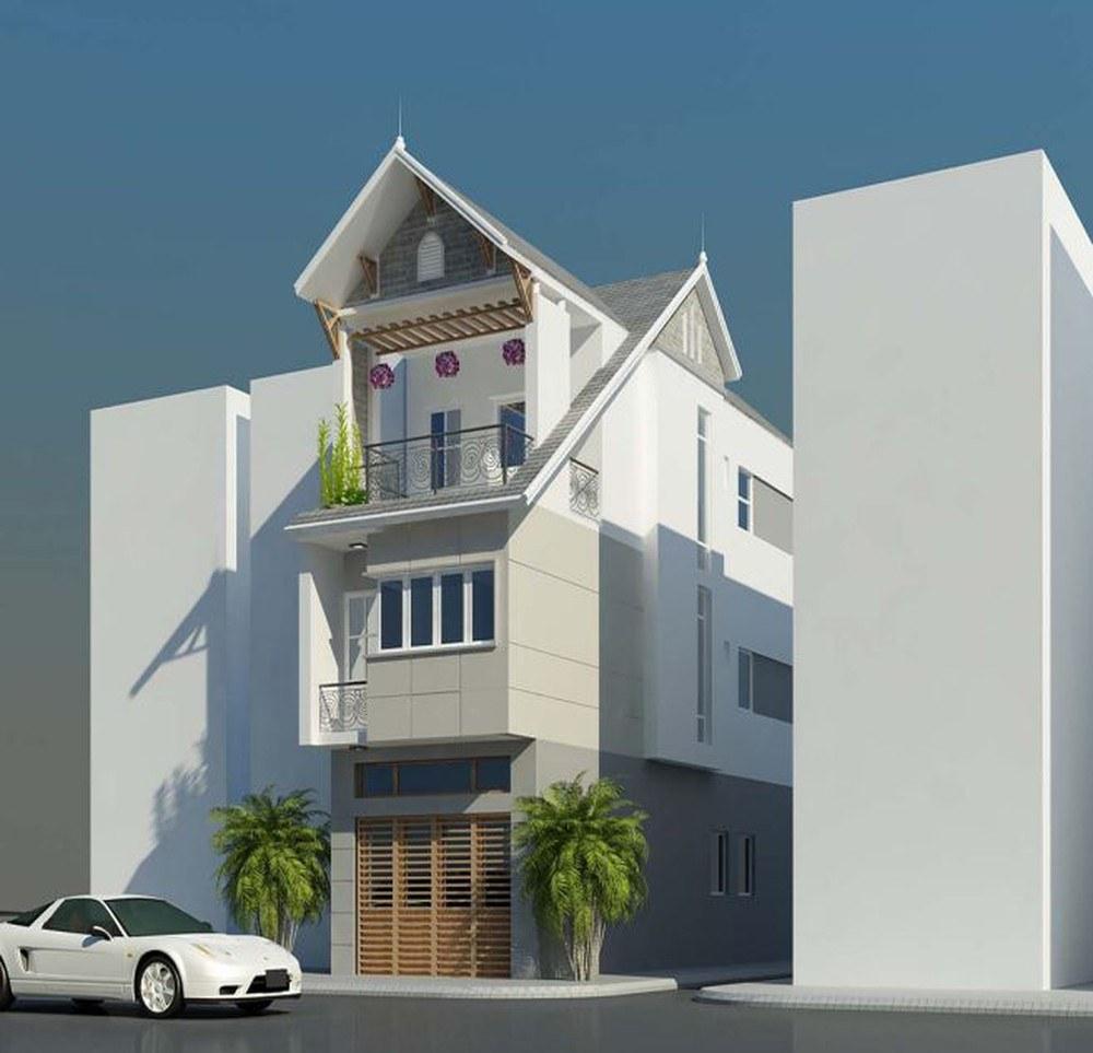 Những mẫu nhà phố lợp tôn đẹp cho xu hướng nhà đẹp tháng 12