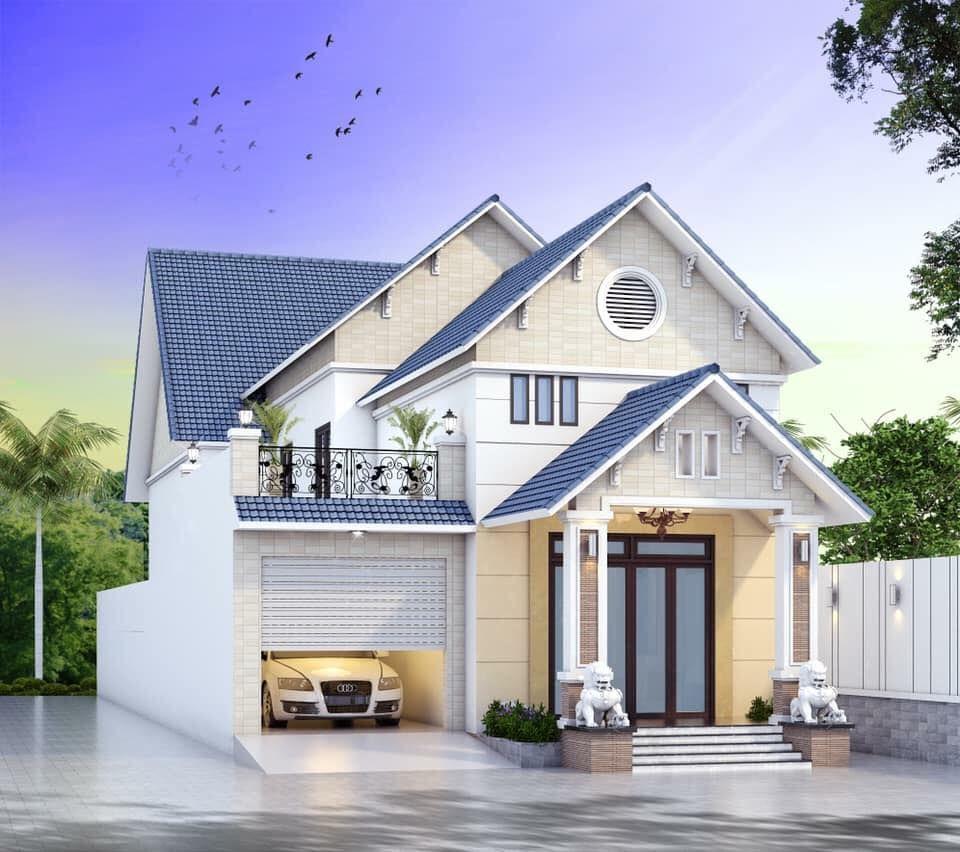 nhà mái phố 2020