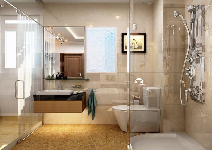 phòng thủy nhà vệ sinh