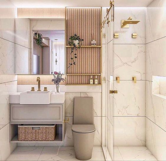 6 cách trang trí phòng vệ sinh trở nên sang chảnh hơn